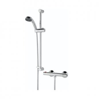 Bristan Zing Cool Touch Bar Mixer Shower with Shower Kit