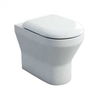 Britton Curve S30 Back to Wall Toilet 520mm Projection - Soft Close Seat