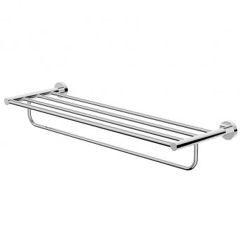Britton Hoxton Wall Mounted Towel Rack - Chrome