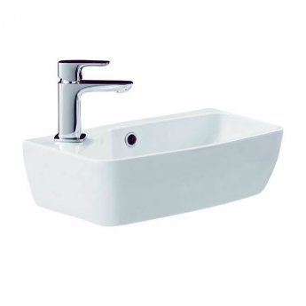 Britton My Home Cloakroom Basin 450mm Wide - 1 Tap Hole