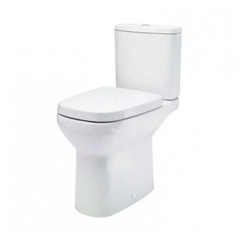 Britton My Home Open Back Close Coupled Toilet with Cistern - Soft Close Seat