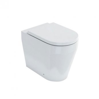 Britton Stadium Back to Wall Toilet 545mm Projection - Soft Close Seat
