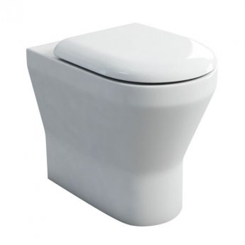 Britton Tall S48 Comfort Height Back to Wall Toilet 520mm Projection - Soft Close Seat