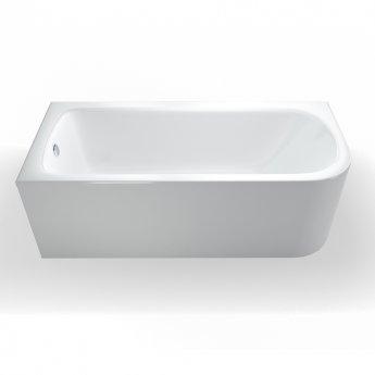 Britton Viride Offset Bath 1700mm x 750mm Left Handed - Gloss White