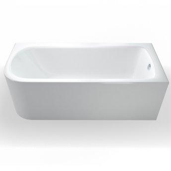 Britton Viride Offset Bath 1700mm x 750mm Right Handed - Gloss White