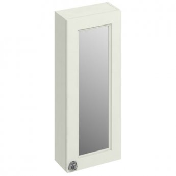 Burlington 30 Fitted 1-Door Mirrored Wall Cabinet Unit, 300mm Wide, Sand