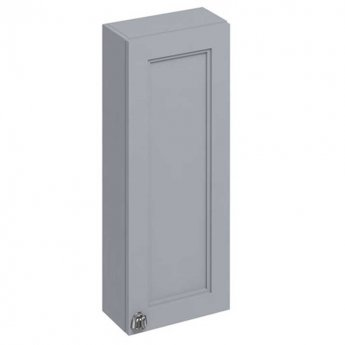 Burlington 30 Fitted 1-Door Wall Cabinet Unit 300mm Wide - Classic Grey