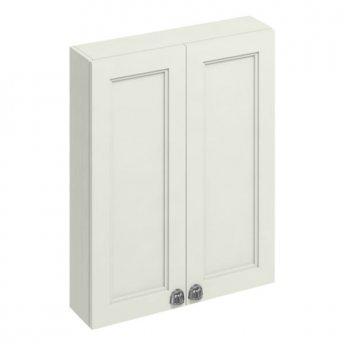 Burlington 60 Fitted 2-Door Wall Cabinet Unit, 600mm Wide, Sand