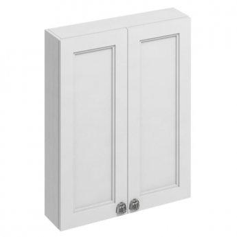 Burlington 60 Fitted 2-Door Wall Cabinet Unit, 600mm Wide, Matt White