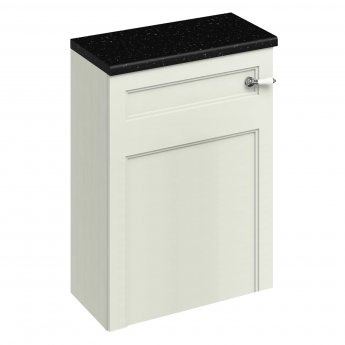 Burlington 60 Fitted Back to Wall WC Unit with Concealed Cistern 600mm Wide, Sand