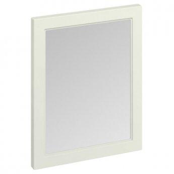 Burlington 60 Fitted Framed Bathroom Mirror, 750mm High x 600mm Wide, Sand