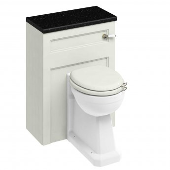 Burlington 60 Regal Back to Wall Toilet with WC Unit and Cistern Sand - Excluding Seat