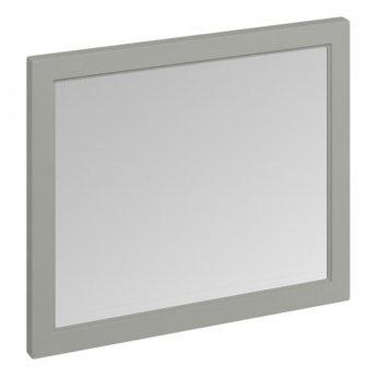 Burlington 90 Fitted Framed Bathroom Mirror, 750mm High x 900mm Wide, Olive