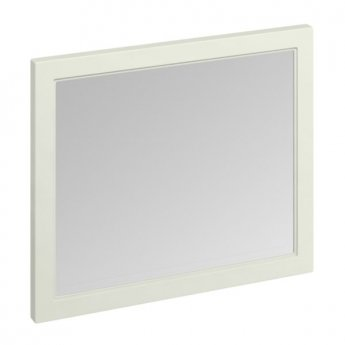 Burlington 90 Fitted Framed Bathroom Mirror, 750mm High x 900mm Wide, Sand
