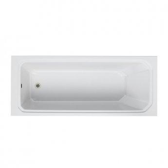 Burlington Arundel Traditional Rectangular Bath, 1700mm x 700mm, Acrylic