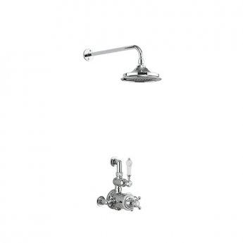 Burlington Avon Dual Exposed Mixer Shower, 12inch Fixed Head