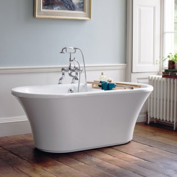 Burlington Brindley Freestanding Bath 1700mm x 750mm Including Surround