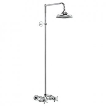 Burlington Eden Dual Exposed Shower with 9\ Fixed Head