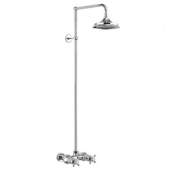 Burlington Eden Dual Exposed Shower with 12\ Fixed Head