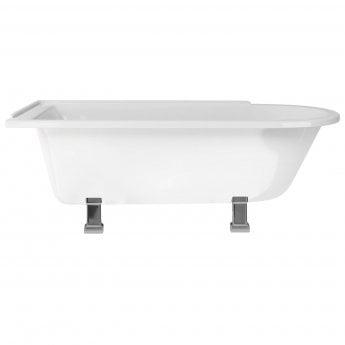 Burlington Hampton LH Freestanding Shower Bath 1690mm x 750mm - Excluding Feet