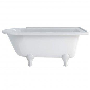 Burlington Hampton RH Freestanding Shower Bath 1690mm x 750mm - Excluding Feet