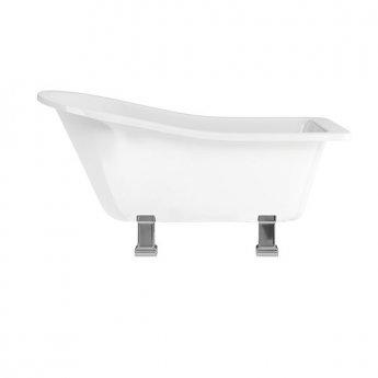 Burlington Harewood Freestanding Slipper Bath 1690mm x 730mm - Excluding Feet