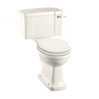 Burlington Medici Close Coupled Toilet with Lever Cistern - Soft Close Seat