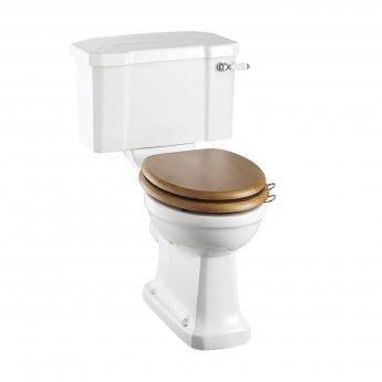 Burlington Regal Close Coupled Toilet Lever Cistern - Excluding Seat