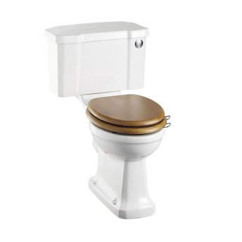 Burlington Regal Close Coupled Toilet Push Button Cistern - Excluding Seat