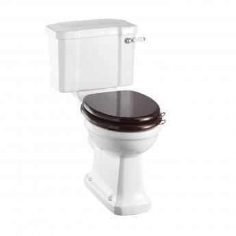 Burlington Regal Close Coupled Toilet Slimline Lever Cistern - Excluding Seat