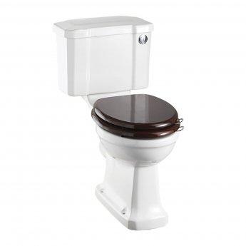 Burlington Regal Close Coupled Toilet Slimline Push Button Cistern - Excluding Seat