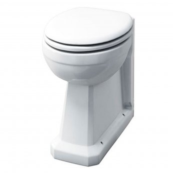 Burlington Regal Back to Wall Toilet 480mm Projection - Excluding Seat