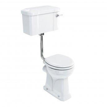 Burlington Regal Low Level Toilet Lever Cistern - Excluding Seat