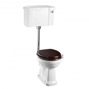 Burlington Regal Low Level Toilet Push Button Cistern - Excluding Seat