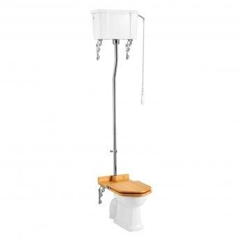 Burlington Regal High Level Toilet Single Flush Cistern - Excluding Seat