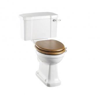 Burlington Rimless Close Coupled Toilet Slimline Lever Cistern - Excluding Seat
