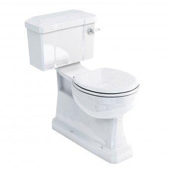 Burlington S-Trap Close Coupled Toilet Slimline Lever Cistern - Excluding Seat