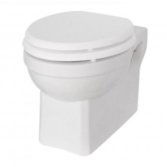 Burlington Standard Wall Hung Toilet 500mm Projection - Excluding Seat