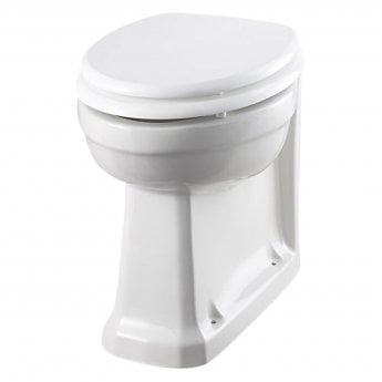 Burlington Standard Back to Wall Toilet 475mm Projection - Excluding Seat