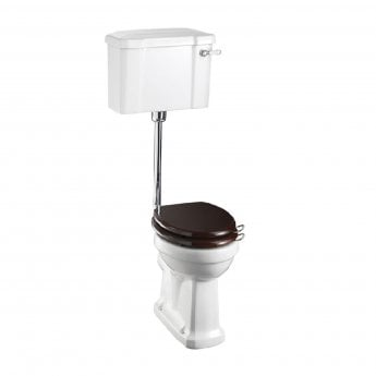 Burlington Standard Low Level Toilet Lever Cistern - Excluding Seat