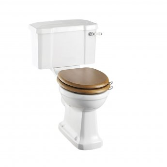 Burlington Standard Close Coupled Toilet Lever Cistern - Excluding Seat