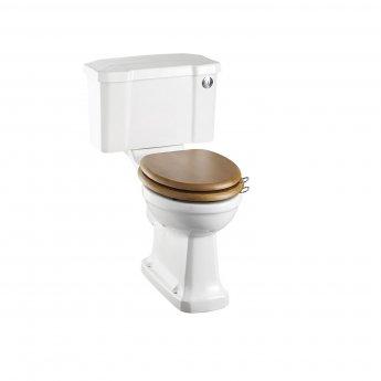 Burlington Standard Close Coupled Toilet Push Button Cistern - Excluding Seat
