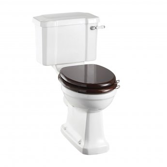Burlington Standard Close Coupled Toilet Slimline Lever Cistern - Excluding Seat