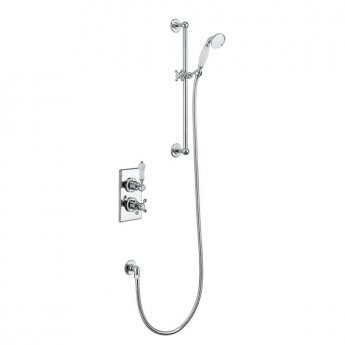 Burlington Trent Dual Concealed Mixer Shower with inc Shower Kit