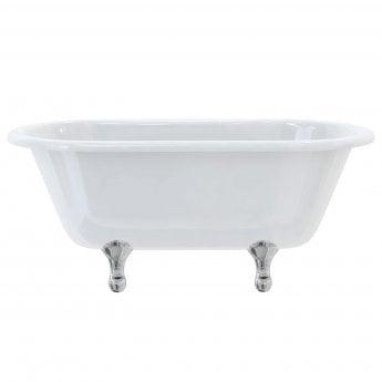 Burlington Windsor Traditional Freestanding Bath 1500mm x 750mm - Excluding Feet