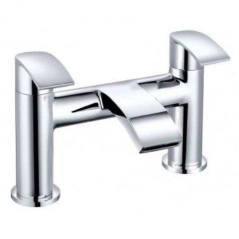 Cali Alia Pillar Mounted Bath Filler Tap Lead Free - Chrome