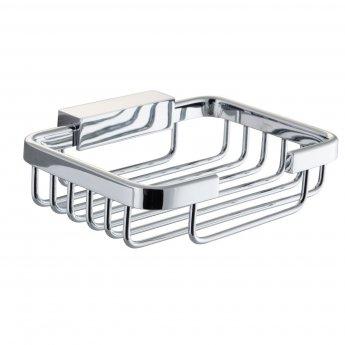 Cali Wire Bathroom Soap Basket - Chrome