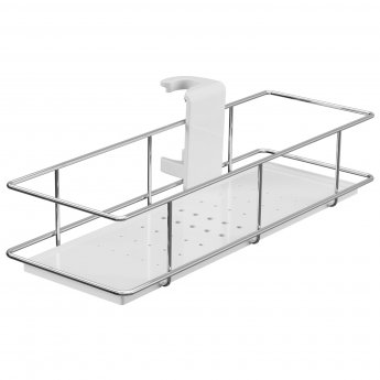 Cali Riser Rail Shower Caddy 300mm Wide - Chrome