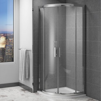 Cali Cass Six Quadrant Shower Enclosure 900mm x 900mm - 6mm Glass