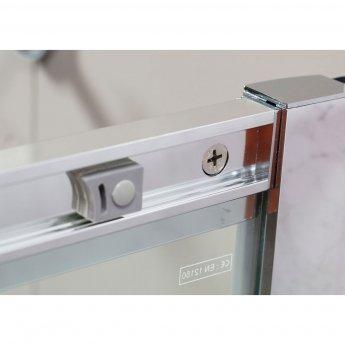 Cali Cass Six Offset Quadrant Shower Enclosure 1200mm x 800mm - 6mm Glass